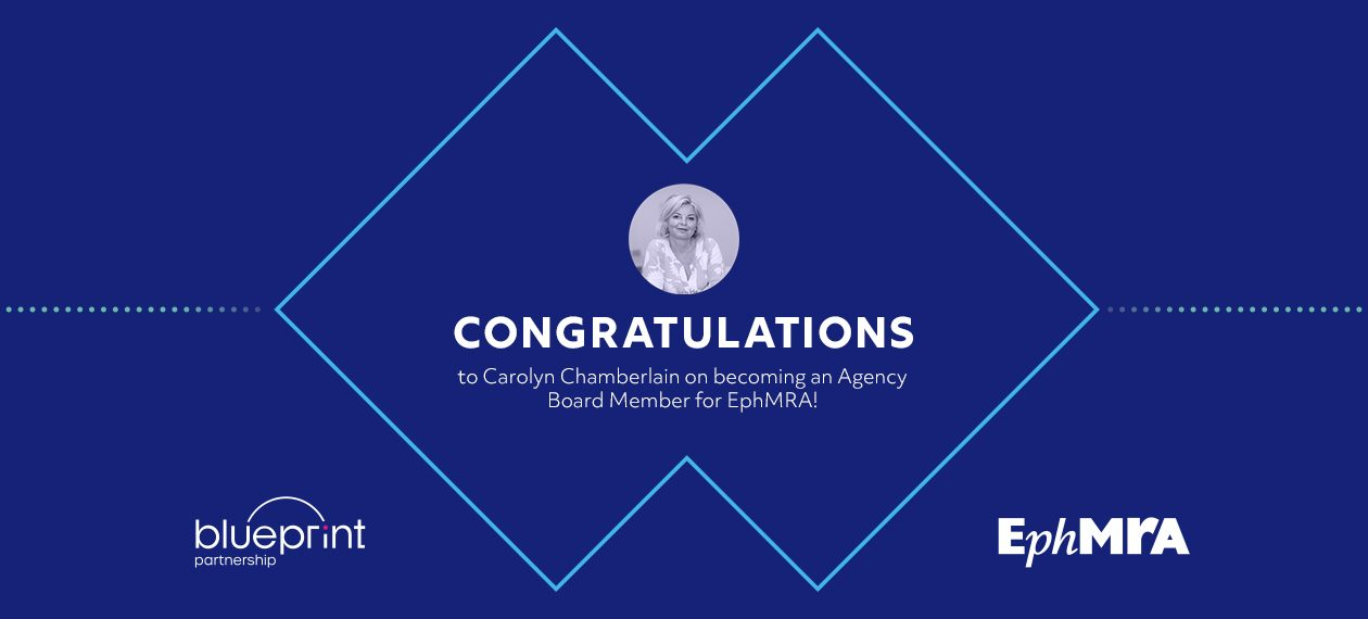 Featured Image - Congratulations to Carolyn Chamberlain on becoming an Agency Board Member for EphMRA!